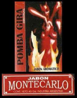Pomba Gira Ritual Soap Incense Fluid Santeria Voodoo