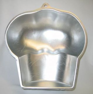 Wilton Cake Pan Mold Giant Cupcake No 2105 3318