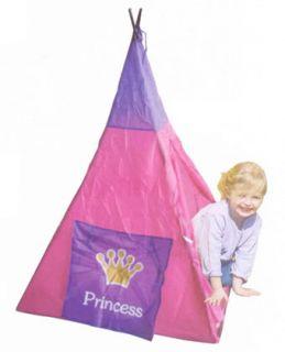 Princess Teepee Kids Indian Tripod Girls Pink Play Tent