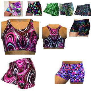 Spandex Shorts and Sports Bras Volleyball Girls Sports