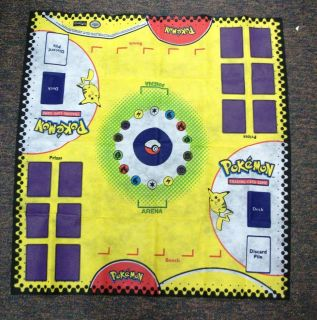 NEW POKEMON TRADING CARD GAME PLAY MAT PLAYMAT 2 PLAYER DESIGN