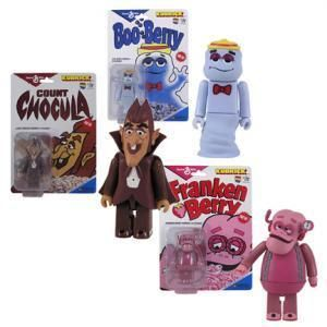 General Mills Count Chocula Booberry Frankenberry Set