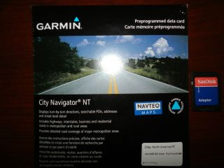 Garmin City Navigator 2013.20 North America Maps Update (Full Coverage