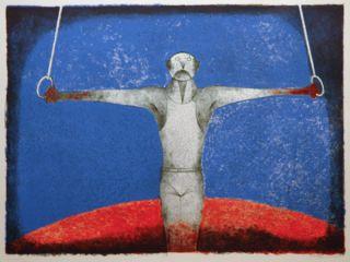 Rufino Tamayo Acrobat Original Lithograph