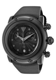 Glam Rock Watch GK1151 Miami Beach Chronograph Black Guilloche Dial