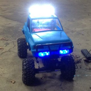 Custom Geo Tracker Suzuki Sidekick Hard Body W/ Led Lights Scale Rock