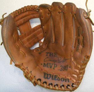 vintage Wilson A2350 George Brett MVP .390 special edition baseball