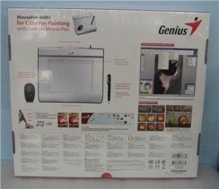 genius mouse pen i608x graphic tablet