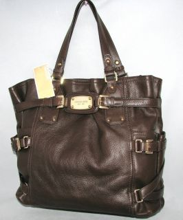 Michael Kors Gansevoort Teak Leather Tote Bag MSRP$498