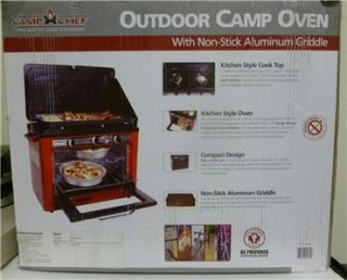 New Outdoors Camp Chef Camp Oven Portable Stove