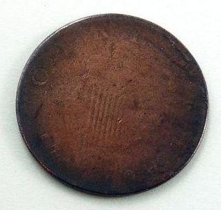 1775 82 Ireland King George III Halfpenny Copper Coin