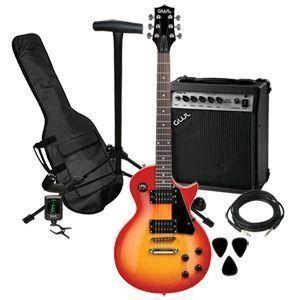 George Washburn Limited Edition Electric Guitar Pak (GWLPCSBPAK)   NEW