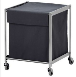 New IKEA Laundry Hamper Basket Cart with Wheels Casters