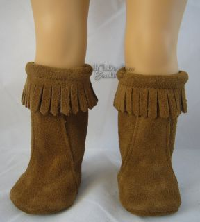 Doll Clothes Fits American Girl Kaya Moccasin Boots WOW