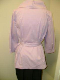 George Simonton Cotton Shirt w Ruched Collar Belt