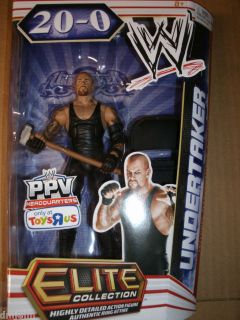 WWE Mattel Elite Collection Undertaker Wrestlemania 28 PPV 20 0