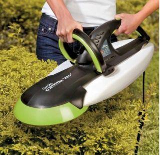 used once garden groom pro hedge trimmer mulcher. Black Bedroom Furniture Sets. Home Design Ideas