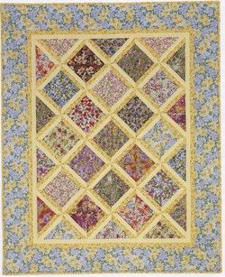 GRANDMOTHERS FLOWER GARDEN CROCHET QUILT - Crochet
