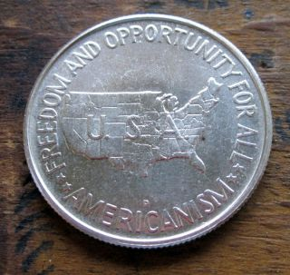 Dollar 1954D Booker T Washington and George Washington Carver