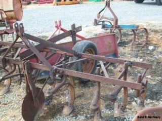 Pittsburg 2 Row Farm Garden Cultivator w Tail Wheel