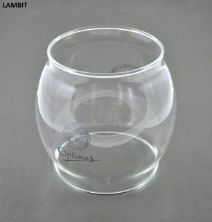 New Glass Globe for Kerosene Lantern Optimus 930 Jenaer Suprax Glas