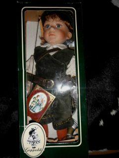 Geppeddo Porcelain Doll Robin Hood