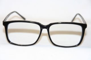 d3975cbaf0 ... Nerd Mens Dork Clear Lens Glasses Geek Square Round Frame Super Black  Eye  Glasses ...