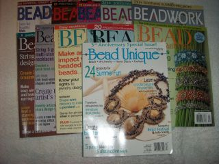 11 Back Issue Beading Magazines Beadworld Bead Unique Bead Button