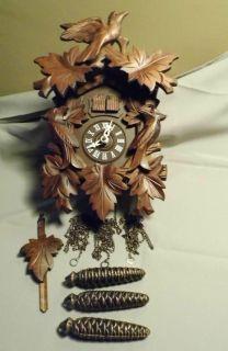 Door German Cuckoo Clock Restore or for Parts