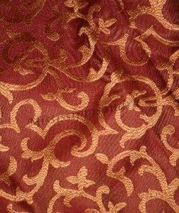 8PC Full Comforter Set Burgundy Red Gold Floral Stripe Double Bed Bag