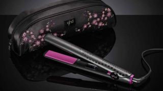 GHD Pink Cherry Blossom Limited Edition Set Straightener Gold Classic