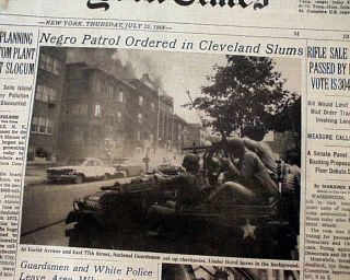 Glenville Shootout East Cleveland Ohio Race Riots Negroes 1968 Old