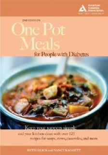 one pot meals for people with diabetes by ruth glick nancy baggett