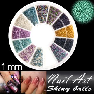 Nail Art Rhinestones Glitters Acrylic Tips Decoration Manicure Wheel 7
