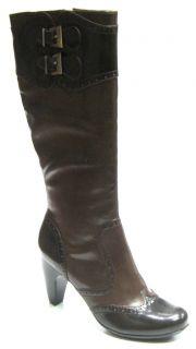 70 Womens Gretta Geraldine Brown 12 Boots Size