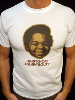 Gary Coleman T Shirt Vtg Style DiffRent Strokes Threes Company 01w