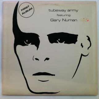 gary numan tubeway army first album lp vg+ nm