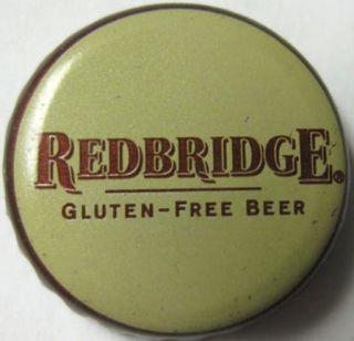 REDBRIDGE GLUTEN   FREE BEER used CROWN, Bottle Cap, Anheuser Busch