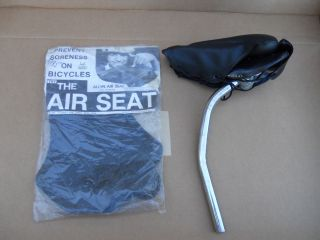 Vintage Bike Air Seat for 10 SPD Type Saddle Touring Road