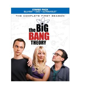 Mint Blu Ray The Big Bang Theory Complete First 1st Season Combo Pack
