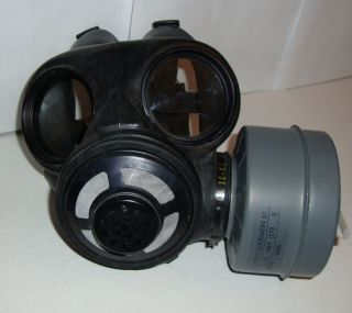 Gas Mask Halloween Cyber Punk Rave Goth End of World Party Costume