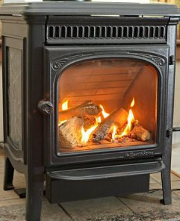 Gas Propane Hearthstone Heater Marble Stove