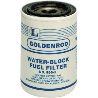 Goldenrod Replacement Spin on Water Block Fuel Filter Element 5566120