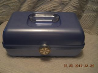 Caboodles on The Go Train Case Cosmetic Makeup Case Organizer 2622
