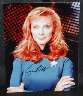 Gates McFadden Star Trek Next Generation Autograph