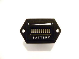 Golf Cart LED Battery Indicator Meter 48 Volt