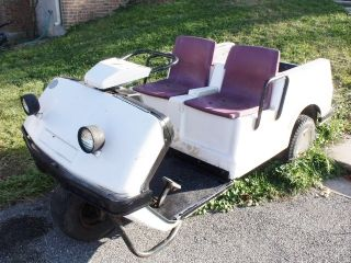 Wheel Golf Cart Made by Columbia Car Corporation