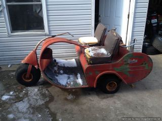 Three Wheel Walker Executive 1957 Golf Cart Gas