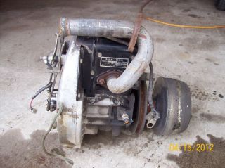1990 Golf Cart Engine 2 Stroke EZ Go Robin Engine Model EC 25 3PG Disp