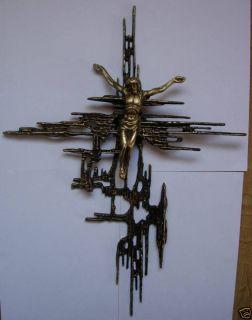 Jesus Christ Cross of Gaudi Crucifixe Art Sculpture